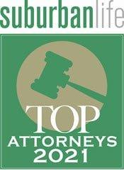 Top Lawyers 2021 Suburban Life Magazine, Phila. PA